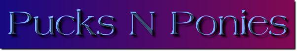 Pucks N Ponies logo