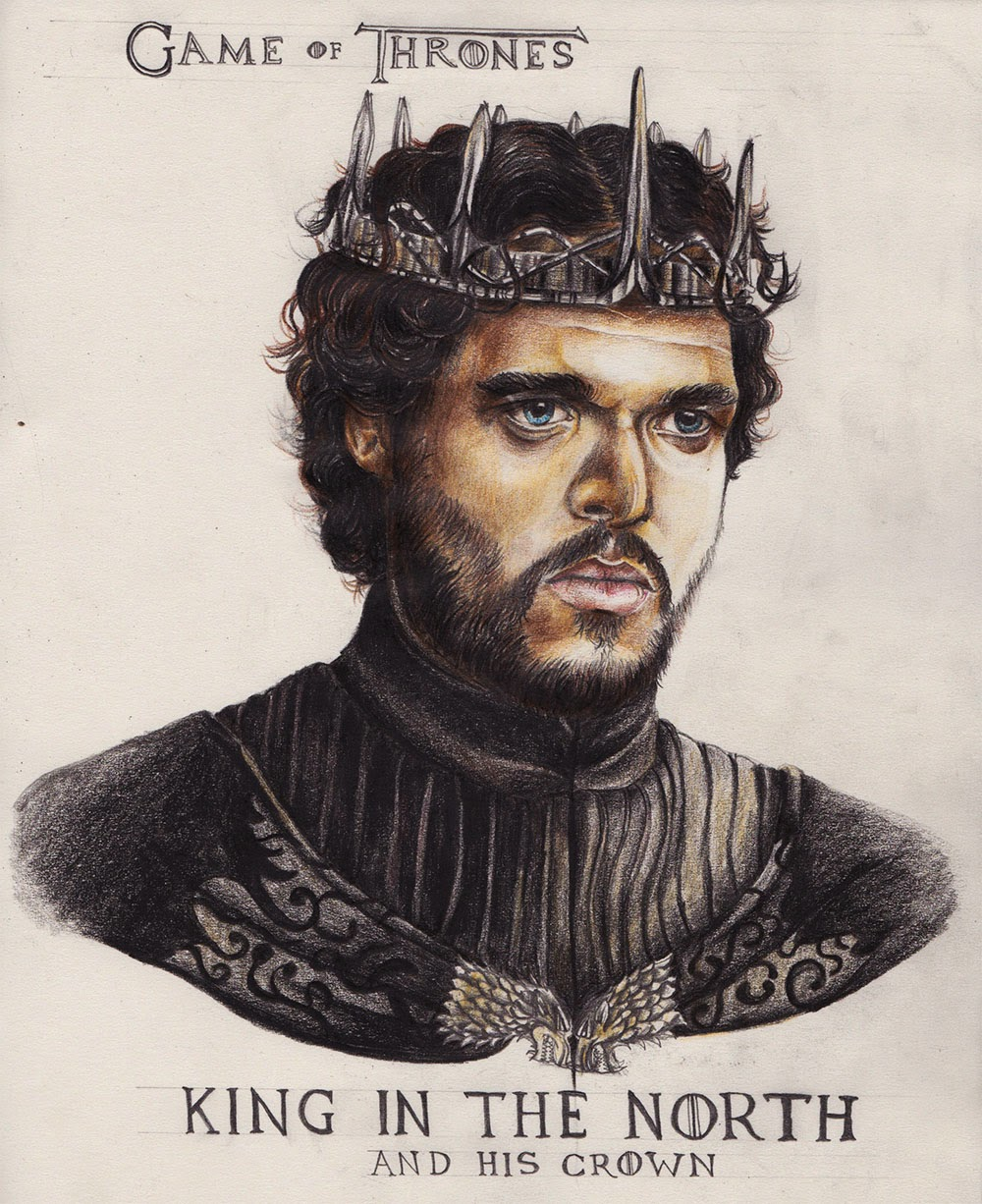 King In The North Crown How The Game of Throne...