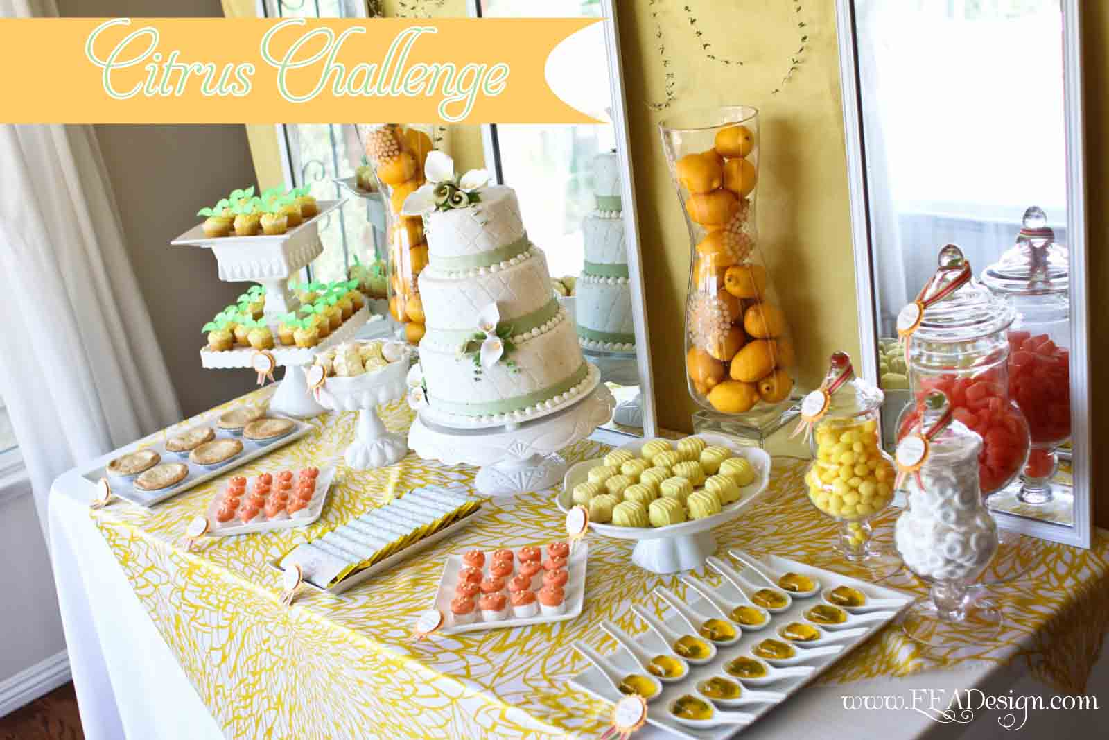 Enchanted Events & Design: Citrus Vendor Challenge