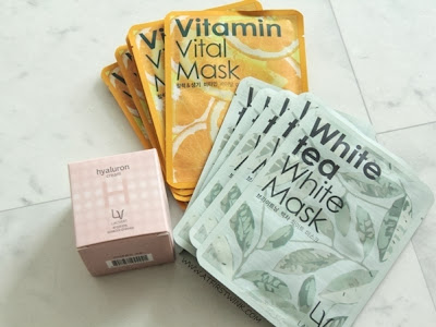 Lacvert hyaluron cream and sheet masks