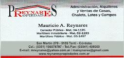 REYNARES PROPIEDADES
