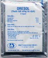 Oresol cung cấp chất điện giải cho cún.
