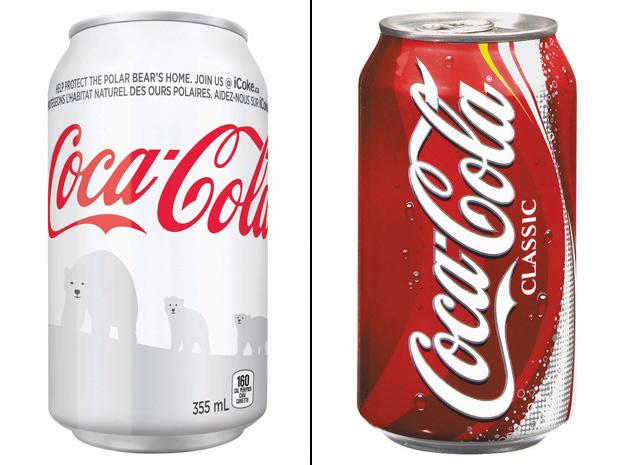 Le nuove lattine Coca Cola con gli orsi polari