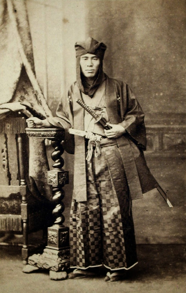Ultimate Collection Of Rare Historical Photos. A Big Piece Of History (200 Pictures) - Samurai (ca. 1860-1880)