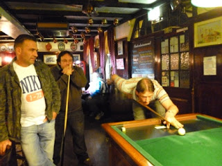 Bar Billiards at The Swan in Worthing