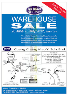 MyDear Baby & Children Warehouse Sale 2012