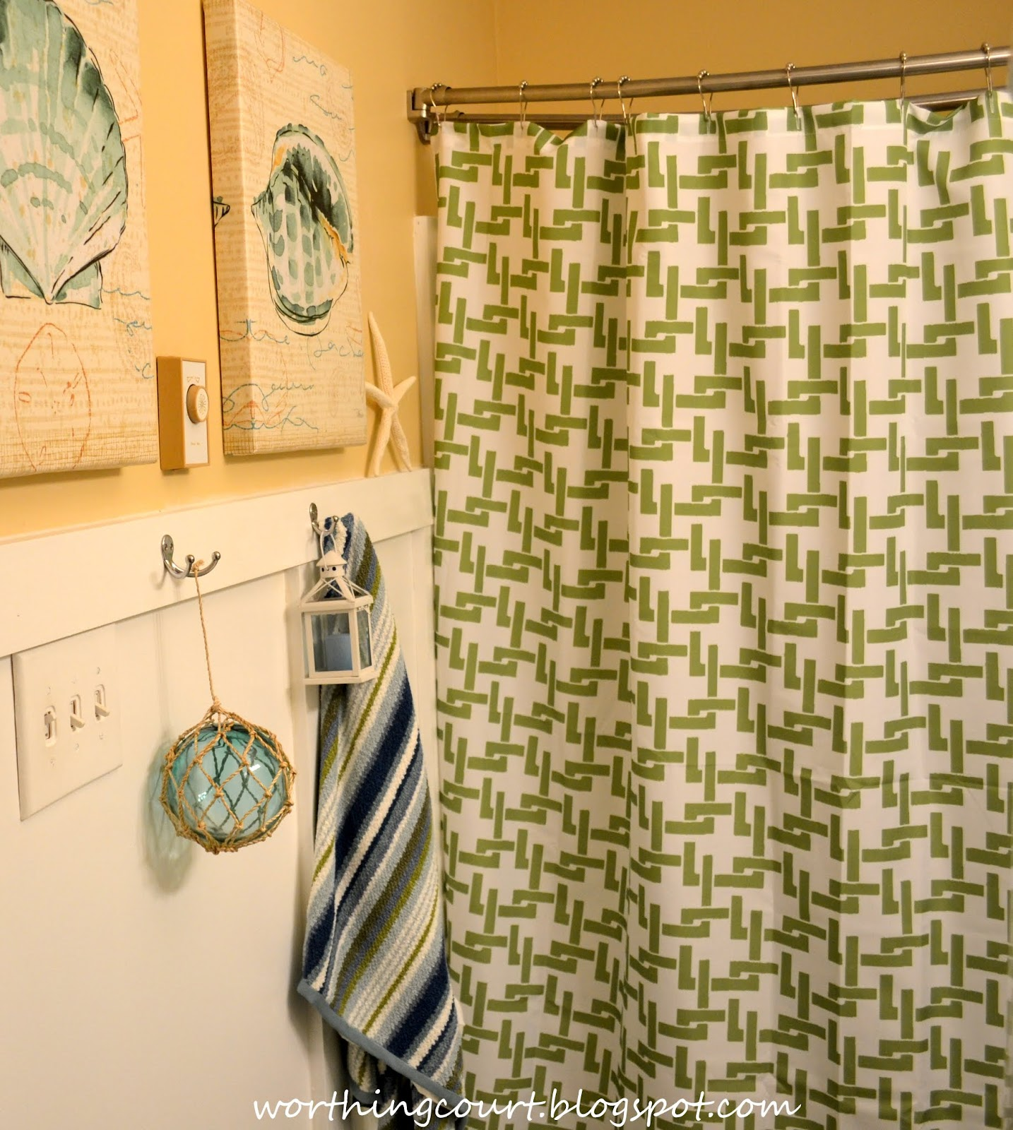 A Beachy Bathroom | Worthing Court