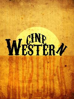 Cartel de cine western