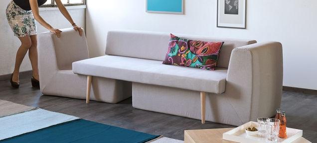 Sala De Estar Com Um Sofa ~  Casinha Sofista  um sofá que se transforma em sala de estar