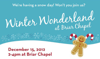 Weather Forecast for Briar Chapel this Saturday: SNOW!
