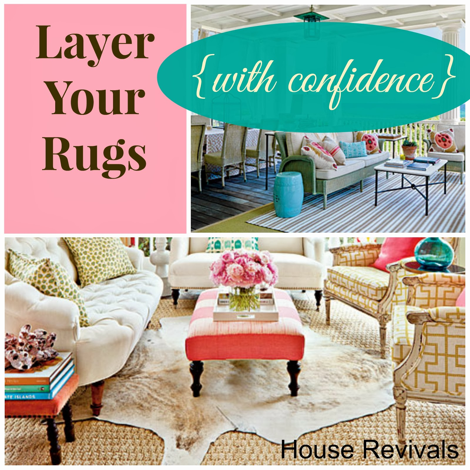 Rugs Are Definitely Workhorses! Lately, Iu0027ve Been Thinking Quite A Bit  About Layering Rugs ...