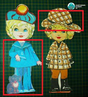 Бумажные куклы Подружки подруги девочки СССР советские старые из детства