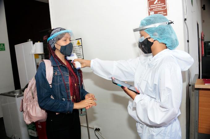 Aprendices del SENA en Bucaramanga regresan a la presencialidad en alternancia
