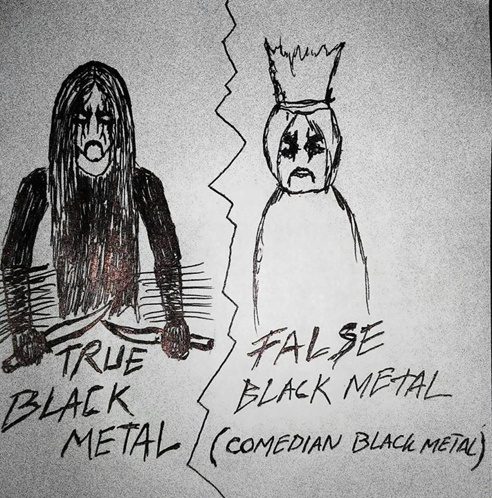 True Black Metal and False Black Metal