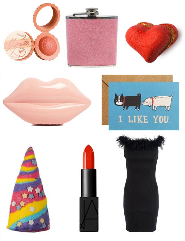Benefits Majorette Blush Hip Flask Lush Heart Throb Lulu Guinness Clutch Ohh Deer Card Lush Unicorn Horn Nars Lipstick Quiz Fluff Trim Dress