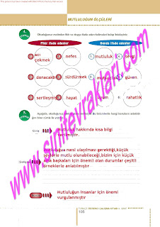 6.Sinif  Turkce Doku Yayinlari Ogrenci Calisma Kitabi Sayfa 105
