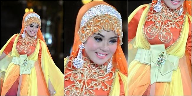 Foto Model Baju Kebaya Dress Ala Syahrini
