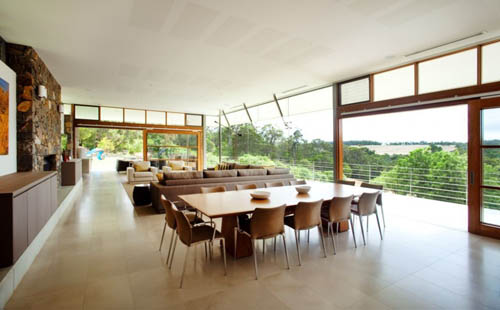 architecture Yallingup Residence dining