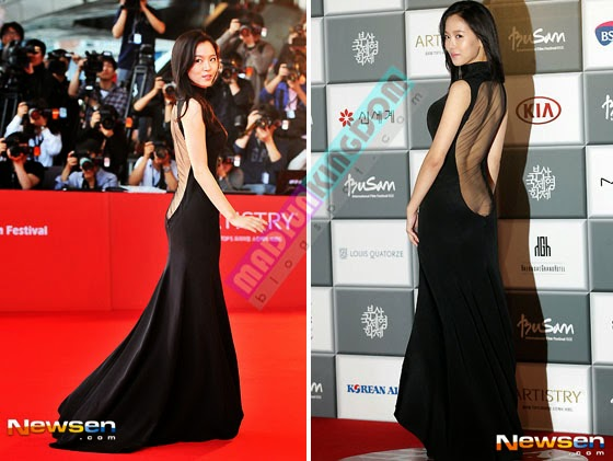 Kang Hanna in 18th BIFF 4 Foto Hot: Artis Korea Han So Ah dan Kang Hanna di International Film Festival