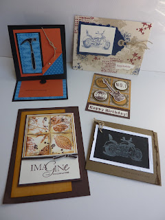 Stampin Up! Convention - Melbourne 2011 - Male Cards