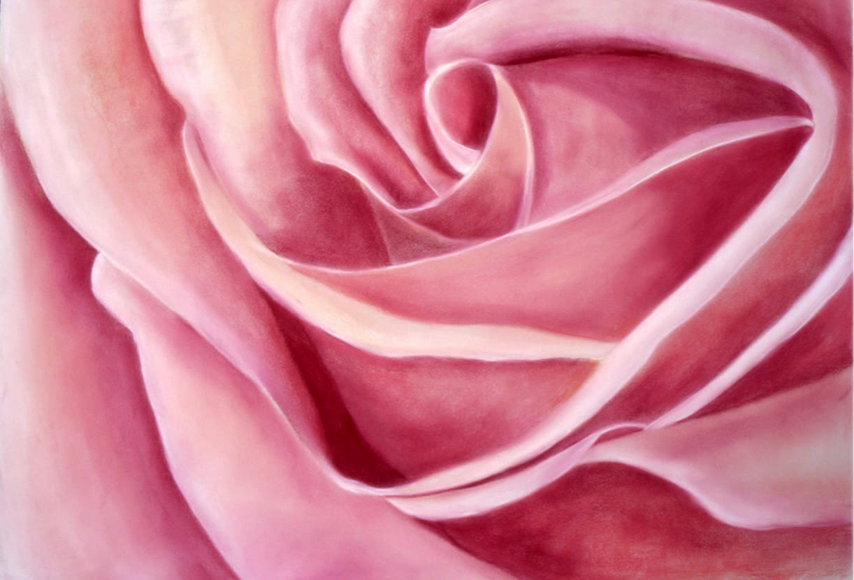 Kathy Schifano, flower artist, picture of rose