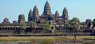 Struktur Spiral Besar Ditemukan di Angkor Wat