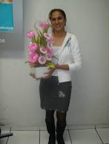 essas fotos eu tirei no curso de flores que fiz , foi muito bom