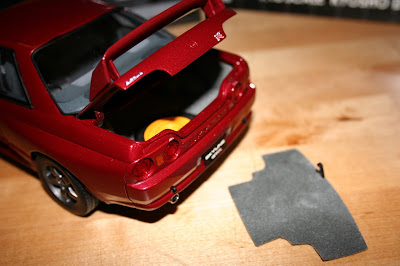 Kyosho Model Nissan Skyline Spare Tire