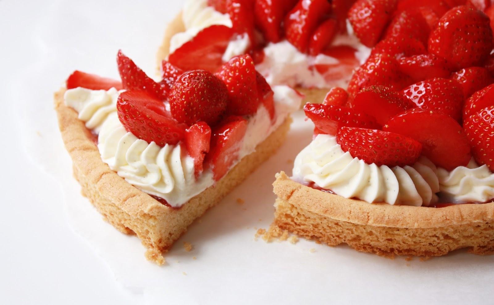 fraise mascarpone palet breton