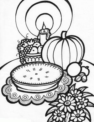Nerdy image with free printable thanksgiving coloring pages