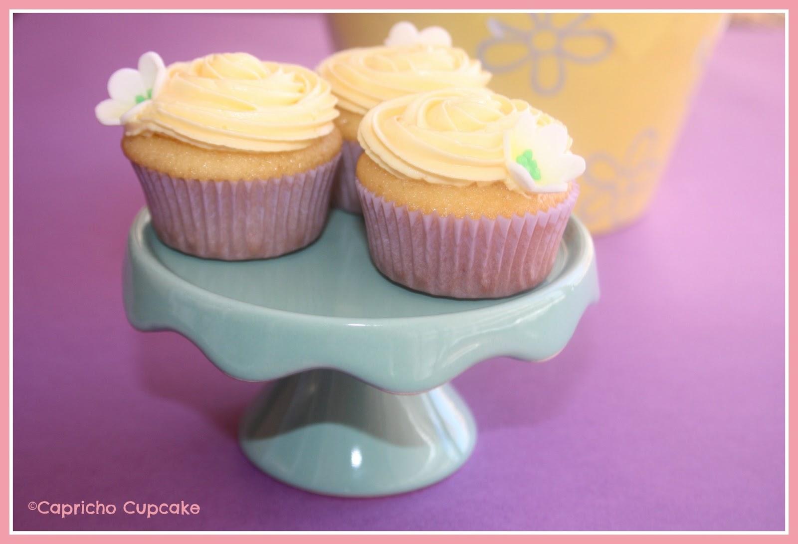 Limoncello cupcakes capricho cupcakes alicante