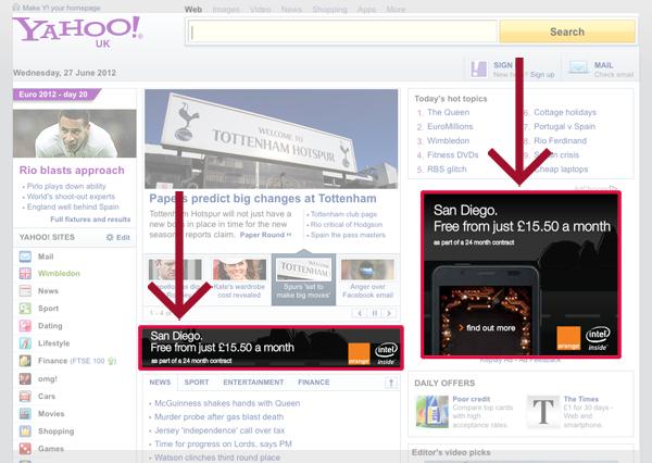 Yahoo personals ad website