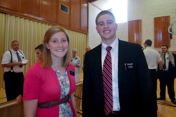 Sister Watkins & Elder Kinney