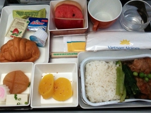 Inflight-meal VN310 ハノイ―成田