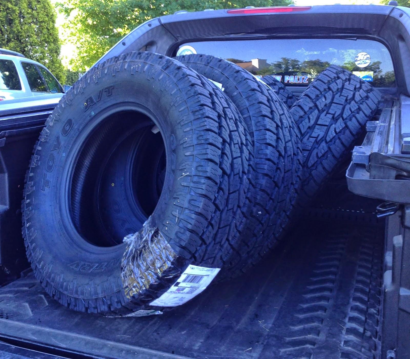 Tire parison Review Goodyear Wrangler Duratrac Vs