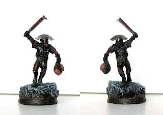 Figurka Władca Pierścieni - Kapitan Uruk-Hai z Isengardu