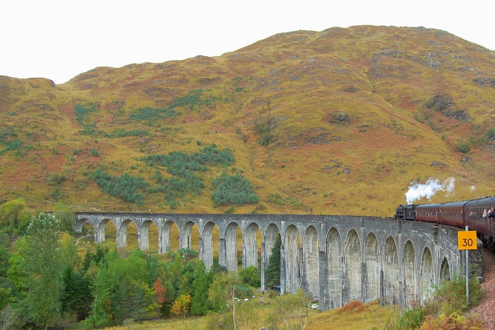 Curve of Glenfinnan Viaduct