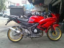 ide modifikasi motor ninja r super kips