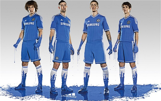 Chelsea 2013-14 New Home Kit Revealed