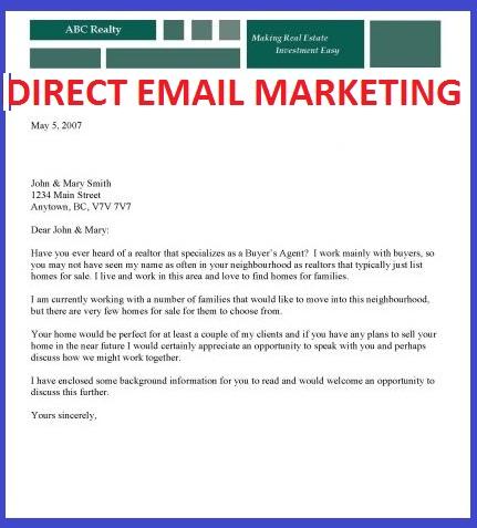email marketing letter sample - Khafre