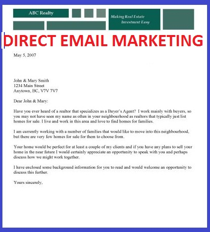 Email Marketing Blog Direct Mail Examples