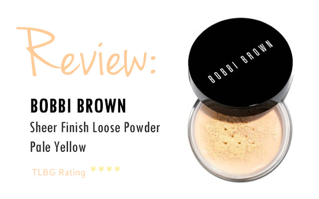 Review: Bobbi Brown Sheer Finish Loose Powder Pale Yellow