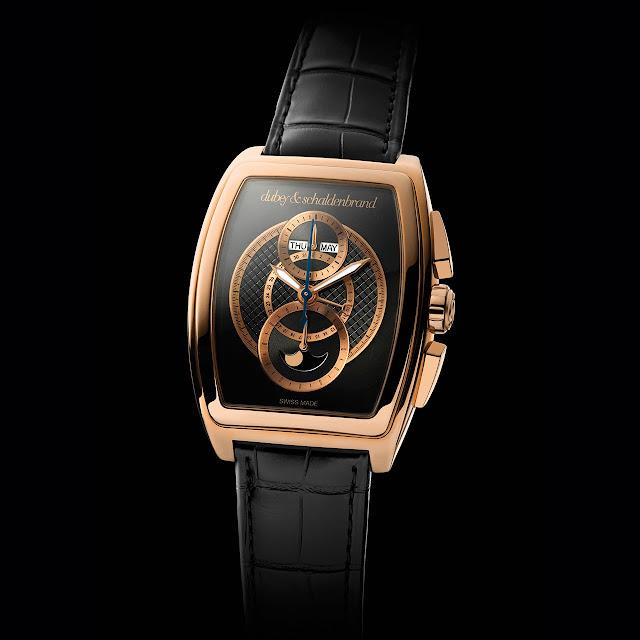 Dubey & Schaldenbrand Grand Dôme DT Rose Gold Watch
