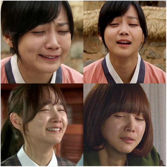 Three actresses and their terrible crying scenes  KPOP, KFANS