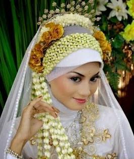 7 Tutorial Jilbab Untuk Pengantin