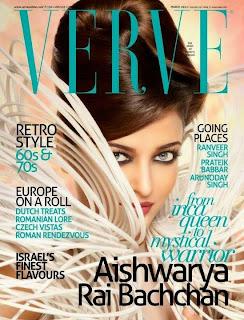 Aishwarya Verve Magazine
