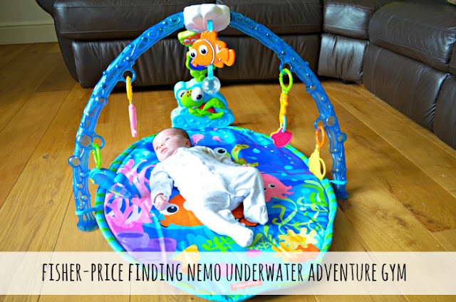 Review // Fisher-Price Finding Nemo Undersea Adventure Gym
