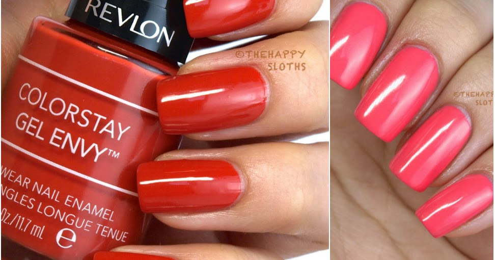 Revlon ColorStay Gel Envy Longwear Nail Enamel & Diamond ...