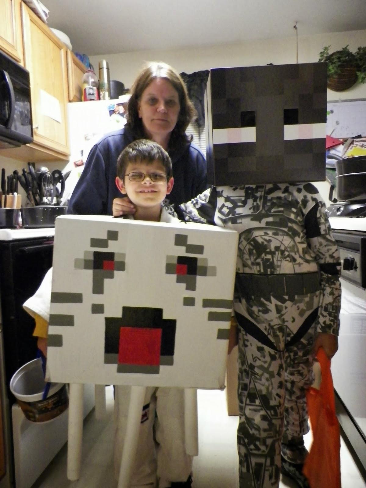 minecraft ghast halloween costume