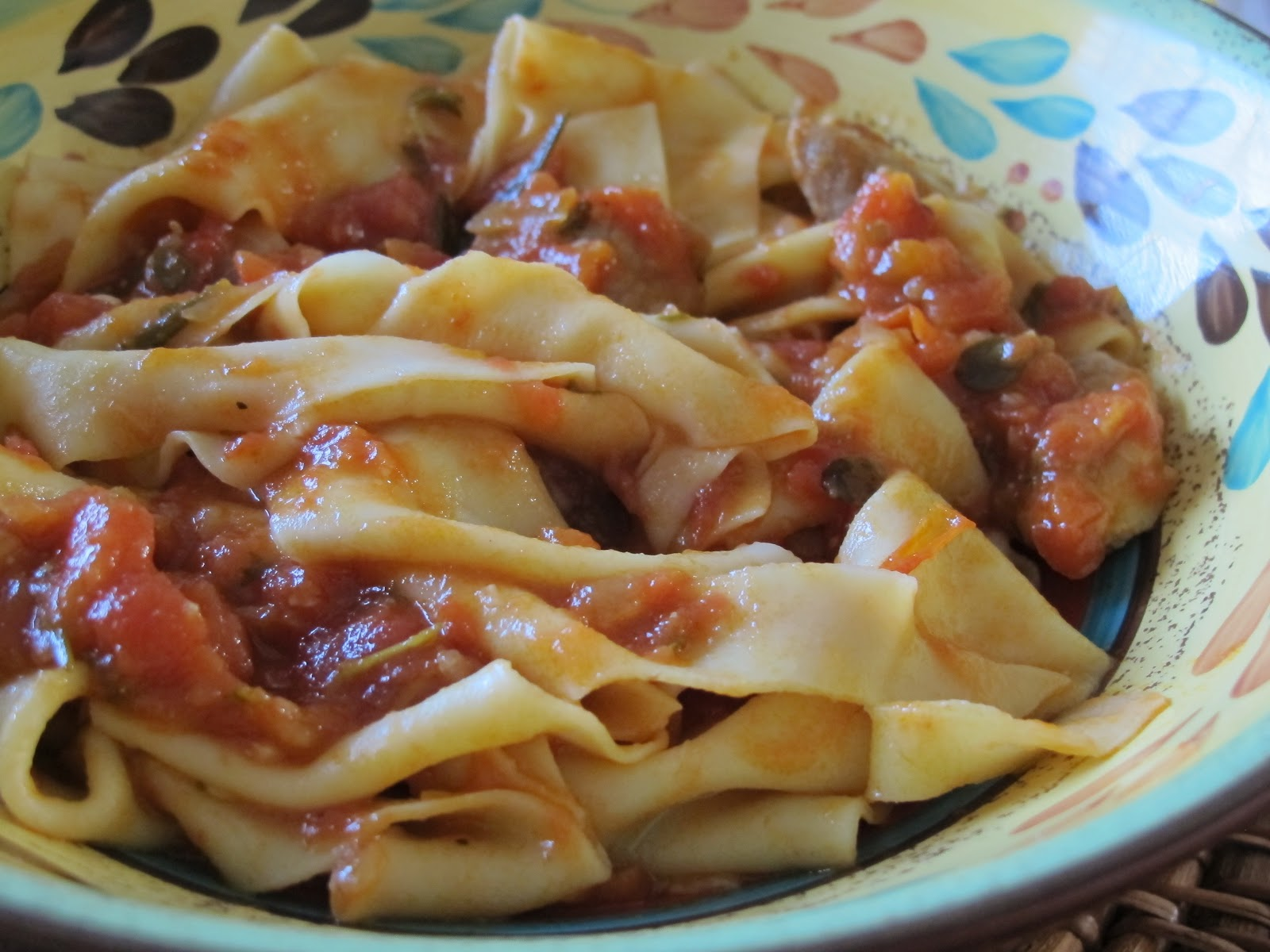 muppys: Pappardelle with Duck Ragu